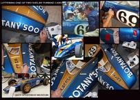 signpainting shelby indy car