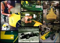 Restore old Indy race cars